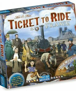 Ticket to Ride France & Old West Board Game